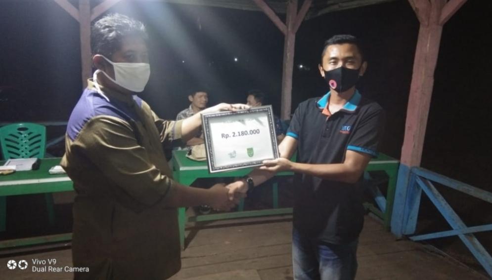 Desa Hibrida Jaya Bukukan Keuntungan Senilai Rp 2,1 Juta