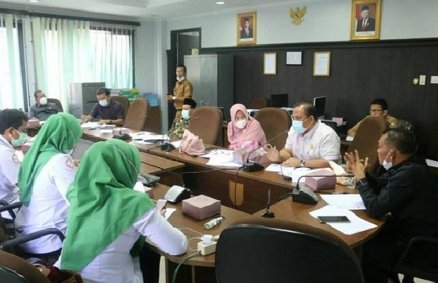 Bahas Kerjasama dengan RS Madani, Komisi III DPRD Pekanbaru Hearing Bersama BPJS Kesehatan