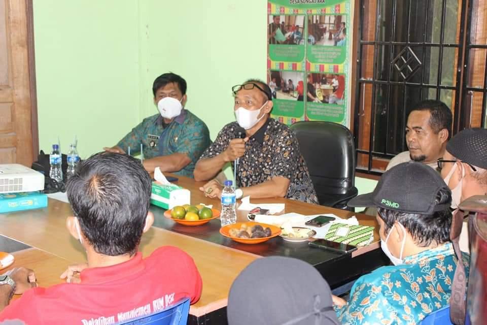 Musyawarah Rencana Pembentukan BUMDes Bersama BKAD Se-Kecamatan Kempas